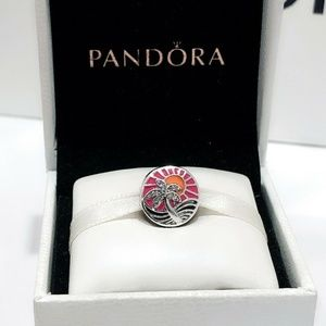 NDORA Charm Tropical Sunset Sterling Silver
